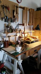 bookbinding station